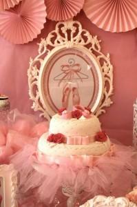 Pink Ballerina Birthday Party via Kara's Party Ideas | Kara'sPartyIdeas.com #Ballet #PartyIdeas #Supplies #Girl #Pink (24)