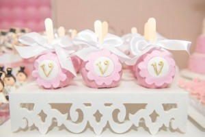 Ballet Themed 1st Birthday Party via Kara's Party Ideas Kara'sPartyIdeas.com #Ballerina #PartyIdeas #Pink #Supplies #BalletCake (49)