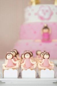 Ballet Themed 1st Birthday Party via Kara's Party Ideas Kara'sPartyIdeas.com #Ballerina #PartyIdeas #Pink #Supplies #BalletCake (43)