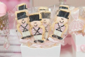 Ballet Themed 1st Birthday Party via Kara's Party Ideas Kara'sPartyIdeas.com #Ballerina #PartyIdeas #Pink #Supplies #BalletCake (59)