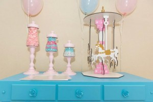 Ballet Themed 1st Birthday Party via Kara's Party Ideas Kara'sPartyIdeas.com #Ballerina #PartyIdeas #Pink #Supplies #BalletCake (40)