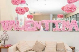 Ballet Themed 1st Birthday Party via Kara's Party Ideas Kara'sPartyIdeas.com #Ballerina #PartyIdeas #Pink #Supplies #BalletCake (25)