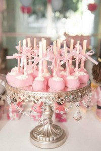 Ballet Themed 1st Birthday Party via Kara's Party Ideas Kara'sPartyIdeas.com #Ballerina #PartyIdeas #Pink #Supplies #BalletCake (20)