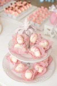 Ballet Themed 1st Birthday Party via Kara's Party Ideas Kara'sPartyIdeas.com #Ballerina #PartyIdeas #Pink #Supplies #BalletCake (13)