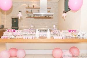 Ballet Themed 1st Birthday Party via Kara's Party Ideas Kara'sPartyIdeas.com #Ballerina #PartyIdeas #Pink #Supplies #BalletCake (10)