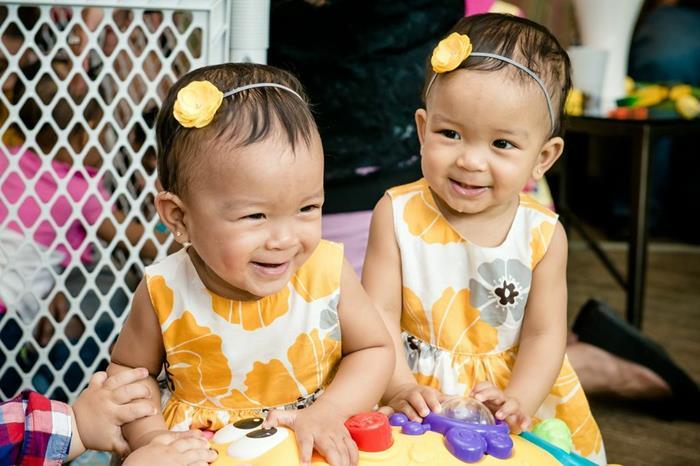 Party Ideas Honeybee Twin 1st Birthday Party via Karas Party Ideas ...