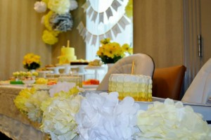 Honeybee Twin 1st Birthday Party via Kara's Party Ideas Kara'sPartyIdeas.com #TwinsBirthdayParty #Bee #Honeybee #Ideas #Supplies #GenderNeutral (26)