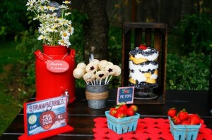 Berry Bash via Kara's Party Ideas | Kara'sPartyIdeas.com #SummerSoiree #PartyIdeas #Supplies (17)