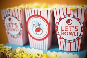 Bowling Themed Birthday Party via Kara's Party Ideas Kara'sPartyIdeas.com #BowlingBall #Strike #Spare #Tween #PartyIdeas #Supplies (11)