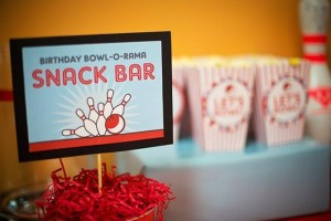 Bowling Themed Birthday Party via Kara's Party Ideas Kara'sPartyIdeas.com #BowlingBall #Strike #Spare #Tween #PartyIdeas #Supplies (4)