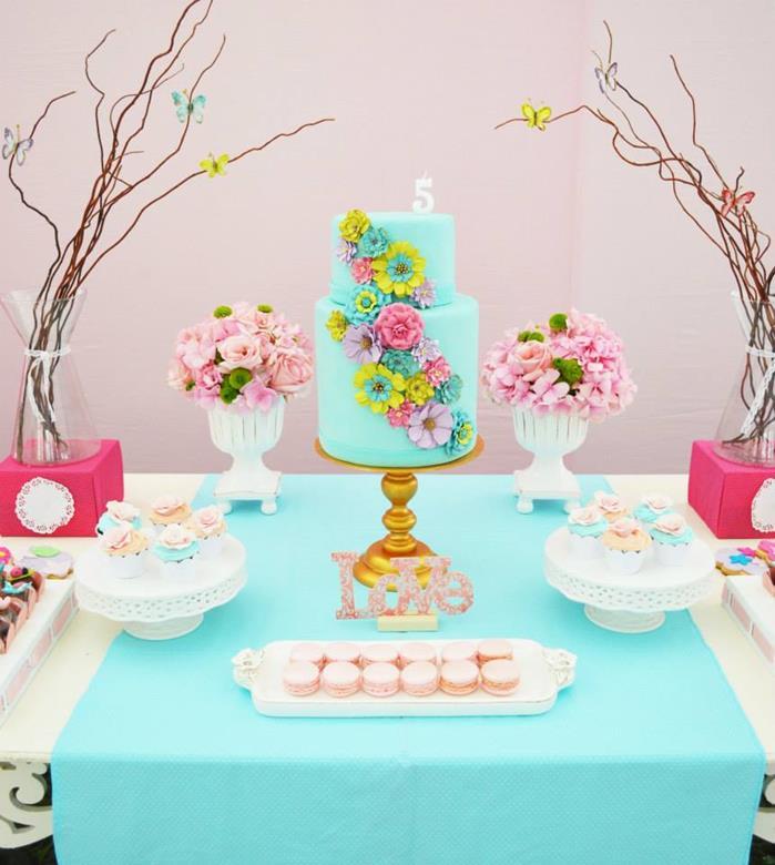 Kara's Party Ideas » Butterfly Garden Party Via Kara's