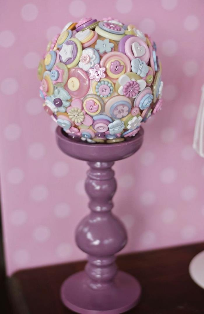 Kara S Party Ideas Cute As A Button 1st Birthday Party Via