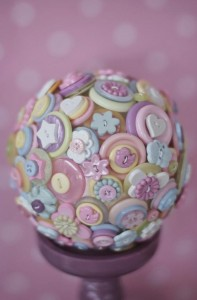 Cute as a Button 1st Birthday Party via Kara's Party Ideas | Kara'sPartyIdeas.com #Girl #Sewing #PartyIdeas #Supplies (14)