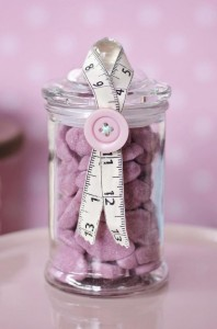 Cute as a Button 1st Birthday Party via Kara's Party Ideas | Kara'sPartyIdeas.com #Girl #Sewing #PartyIdeas #Supplies (13)