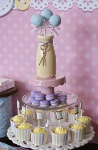 Cute as a Button 1st Birthday Party via Kara's Party Ideas | Kara'sPartyIdeas.com #Girl #Sewing #PartyIdeas #Supplies (9)