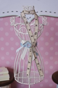 Cute as a Button 1st Birthday Party via Kara's Party Ideas | Kara'sPartyIdeas.com #Girl #Sewing #PartyIdeas #Supplies (6)