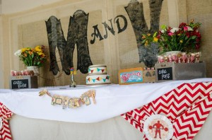 Twins First Birthday Vintage Carnival Party via Kara's Party Ideas | Kara'sPartyIdeas.com #Vintage #Carnival #Circus #PartyIdeas #Supplies #BigTop (36)
