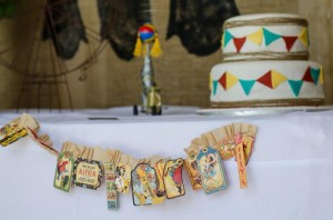 Twins First Birthday Vintage Carnival Party via Kara's Party Ideas | Kara'sPartyIdeas.com #Vintage #Carnival #Circus #PartyIdeas #Supplies #BigTop (35)