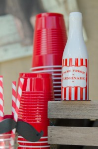 Twins First Birthday Vintage Carnival Party via Kara's Party Ideas | Kara'sPartyIdeas.com #Vintage #Carnival #Circus #PartyIdeas #Supplies #BigTop (28)