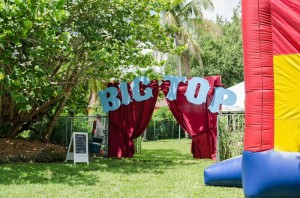 Twins First Birthday Vintage Carnival Party via Kara's Party Ideas | Kara'sPartyIdeas.com #Vintage #Carnival #Circus #PartyIdeas #Supplies #BigTop (23)