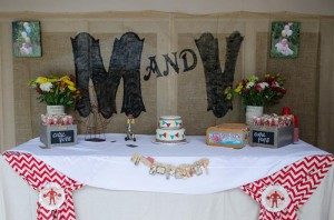 Twins First Birthday Vintage Carnival Party via Kara's Party Ideas | Kara'sPartyIdeas.com #Vintage #Carnival #Circus #PartyIdeas #Supplies #BigTop (15)