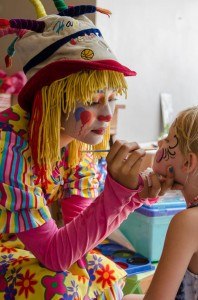 Twins First Birthday Vintage Carnival Party via Kara's Party Ideas | Kara'sPartyIdeas.com #Vintage #Carnival #Circus #PartyIdeas #Supplies #BigTop (6)