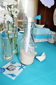 Paper Boat Christening Party via Kara's Party Ideas | Kara'sPartyIdeas.com #Nautical #Ship #BoyBabyBlessing #Party #Ideas #Supplies (17)
