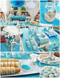 Paper Boat Christening Party with Lots of REALLY CUTE IDEAS via Kara's Party Ideas | Kara'sPartyIdeas.com #Nautical #Ship #BoyBabyBlessing #Party #Ideas #Supplies (1)