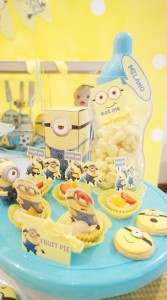 Despicable Me Party via Kara's Party Ideas | Kara'sPartyIdeas.com #DespicableMe #PartyIdeas #Supplies #MovieParty #GenderNeutralParty (4)