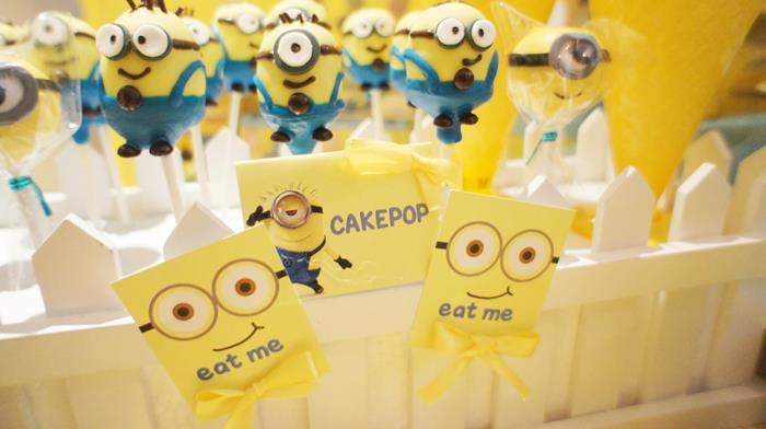 Kara's Party Ideas Despicable Me Party Planning Ideas Supplies Idea  Decorations Cake