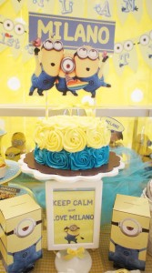 Despicable Me Party via Kara's Party Ideas | Kara'sPartyIdeas.com #DespicableMe #PartyIdeas #Supplies #MovieParty #GenderNeutralParty (12)