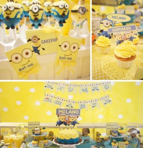 Despicable Me Party with AWESOME IDEAS via Kara's Party Ideas | Kara'sPartyIdeas.com #DespicableMe #PartyIdeas #Supplies #MinionParty #GenderNeutralParty (1)