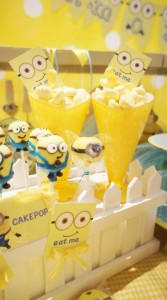 Despicable Me Party via Kara's Party Ideas | Kara'sPartyIdeas.com #DespicableMe #PartyIdeas #Supplies #MovieParty #GenderNeutralParty (10)