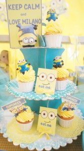 Despicable Me Party via Kara's Party Ideas | Kara'sPartyIdeas.com #DespicableMe #PartyIdeas #Supplies #MovieParty #GenderNeutralParty (8)