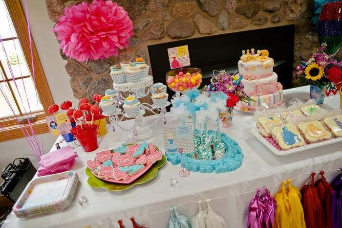 Kara S Party Ideas Disney Princess Party Via Kara S Party