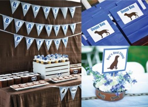 Boy's Best Friend Dog Party with Lots of CUTE Ideas via Kara's Party Ideas | Kara'sPartyIdeas.com #Puppy #PartyIdeas #Supplies (21)