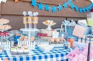 Dukes of Hazzard Party via Kara's Party Ideas   Kara'sPartyIdeas.com #DaisyDuke #GeneralLee #PartyIdeas #Supplies (9)