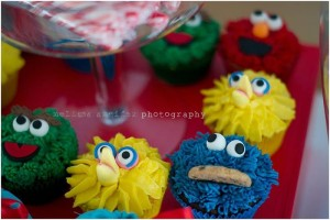 Elmo and Friends Party via Kara's Party Ideas Kara'sPartyIdeas.com #SesameStreet #Elmo #CookieMonster #BigBird #PartyIDeas #Supplies (27)