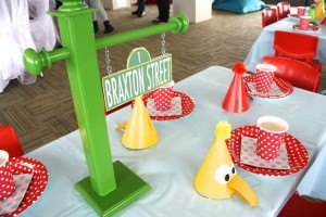 Elmo and Friends Party via Kara's Party Ideas Kara'sPartyIdeas.com #SesameStreet #Elmo #CookieMonster #BigBird #PartyIDeas #Supplies (3)
