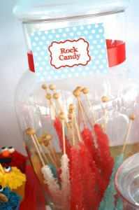 Elmo and Friends Party via Kara's Party Ideas Kara'sPartyIdeas.com #SesameStreet #Elmo #CookieMonster #BigBird #PartyIDeas #Supplies (2)