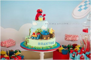 Elmo and Friends Party via Kara's Party Ideas Kara'sPartyIdeas.com #SesameStreet #Elmo #CookieMonster #BigBird #PartyIDeas #Supplies (26)