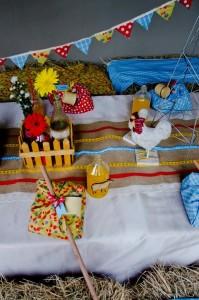 Vintage Farm Party via Kara's Party Ideas | Kara'sPartyIdeas.com #ShabbyChic #Barnyard #Farm #Party #Ideas #Supplies (24)