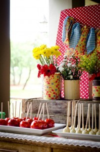 Vintage Farm Party via Kara's Party Ideas | Kara'sPartyIdeas.com #ShabbyChic #Barnyard #Farm #Party #Ideas #Supplies (10)