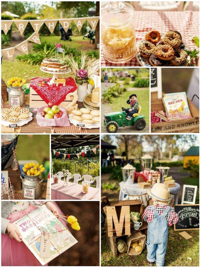 Kara's Party Ideas Farm Themed Birthday Party FULL of ...