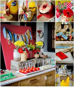 Vintage Farm Party with REALLY CUTE IDEAS via Kara's Party Ideas | Kara'sPartyIdeas.com #ShabbyChic #Barnyard #Farm #Party #Ideas #Supplies (1)