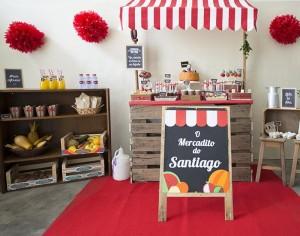 Farmer's Market Themed Birthday Party with Such CUTE IDEAS via Kara's Party Ideas | Kara'sPartyIdeas.com #Farm #Barnyard #Party #Ideas #Supplies (5)