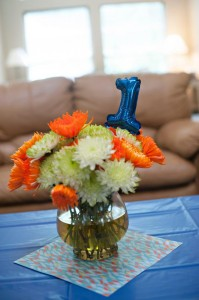 Fish Themed 1st Birthday Party via Kara's Party Ideas | Kara'sPartyIdeas.com #Goldfish #Fishing #PartyIdeas #Supplies (50)