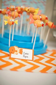 Fish Themed 1st Birthday Party via Kara's Party Ideas | Kara'sPartyIdeas.com #Goldfish #Fishing #PartyIdeas #Supplies (36)