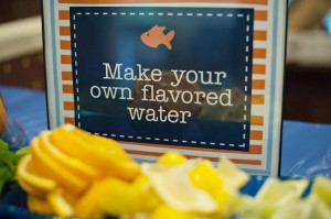 Fish Themed 1st Birthday Party via Kara's Party Ideas | Kara'sPartyIdeas.com #Goldfish #Fishing #PartyIdeas #Supplies (26)