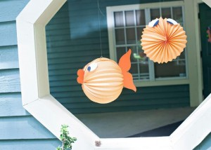 Fish Themed 1st Birthday Party via Kara's Party Ideas | Kara'sPartyIdeas.com #Goldfish #Fishing #PartyIdeas #Supplies (21)
